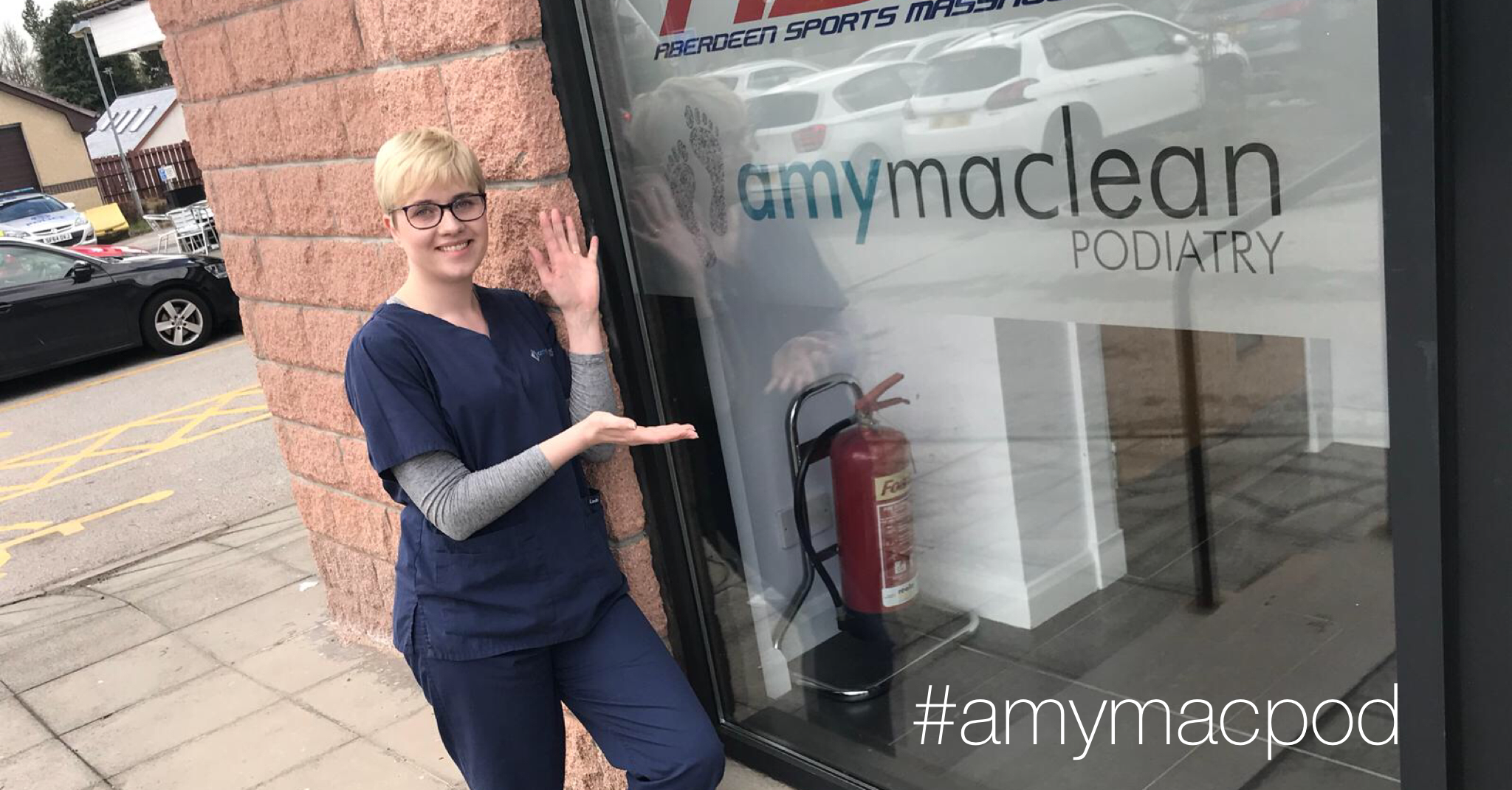 Amy Maclean Podiatry Westhill clinic